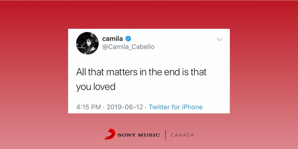 #ThursdayThoughts from @Camila_Cabello <br>http://pic.twitter.com/006Zn7pFSj