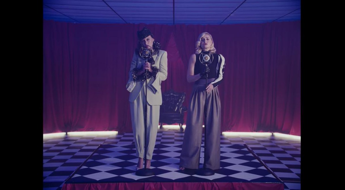 "extremely here for the Aly & AJ renaissance, ""Star Maps,"" and these ensembles that I want to wear immediately  https://www.youtube.com/watch?time_continue=150&v=OLQWflMrVTk …"