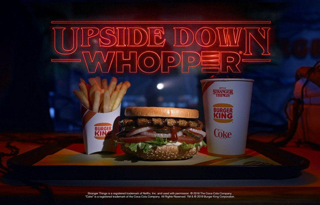 Burger King Will Sell Upside-Down Whoppers To Celebrate 'Stranger Things' https://t.co/2QhZQhnA7T https://t.co/lTPY1ZipUa