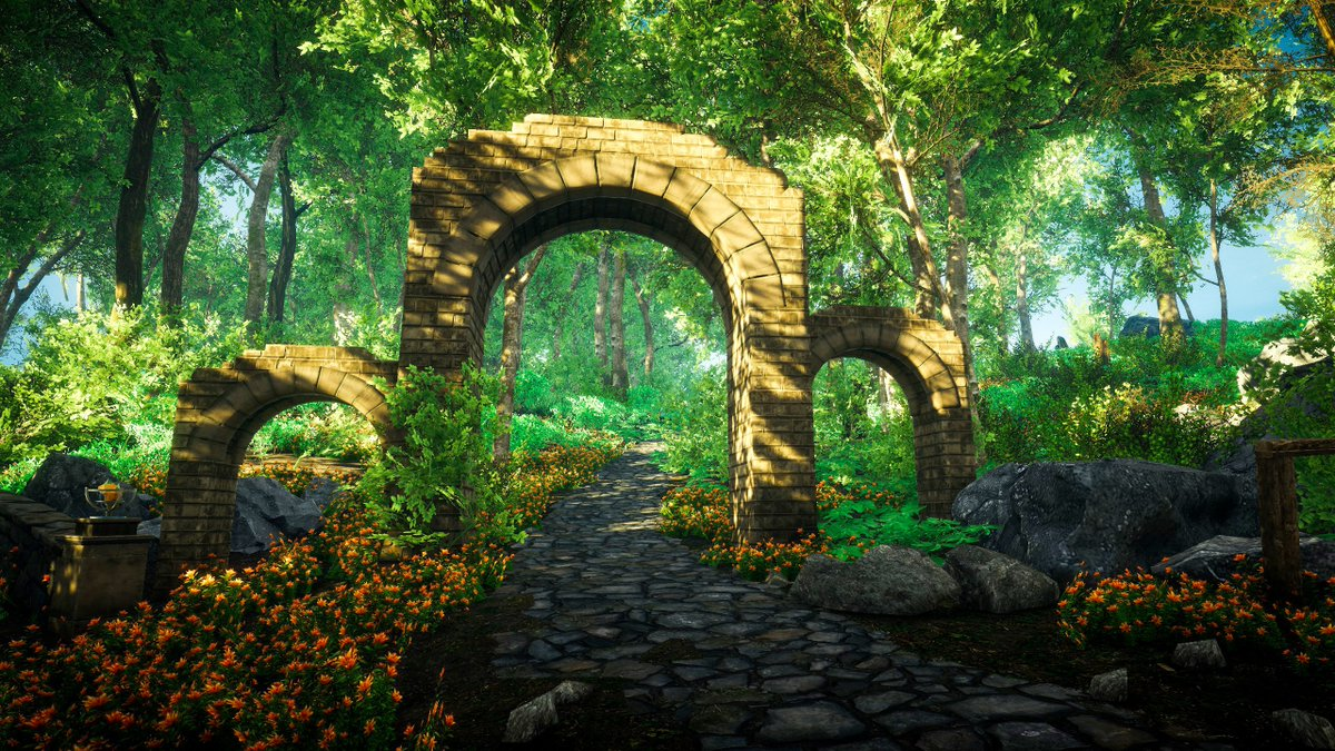 The gate #eastshade #screenshot #gamephotography