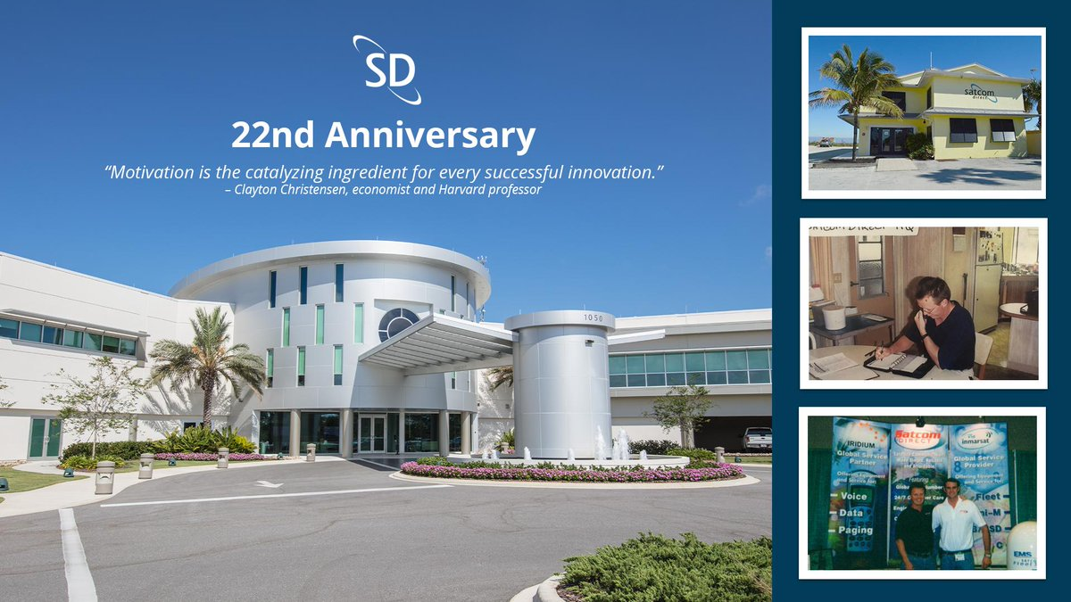 Twenty-two years ago, SD was founded by Jim Jensen. This week we celebrate 22 years of innovation and a dedication to serving our customers. #ThrowbackThursday #ThrowbackThursdays #bizav