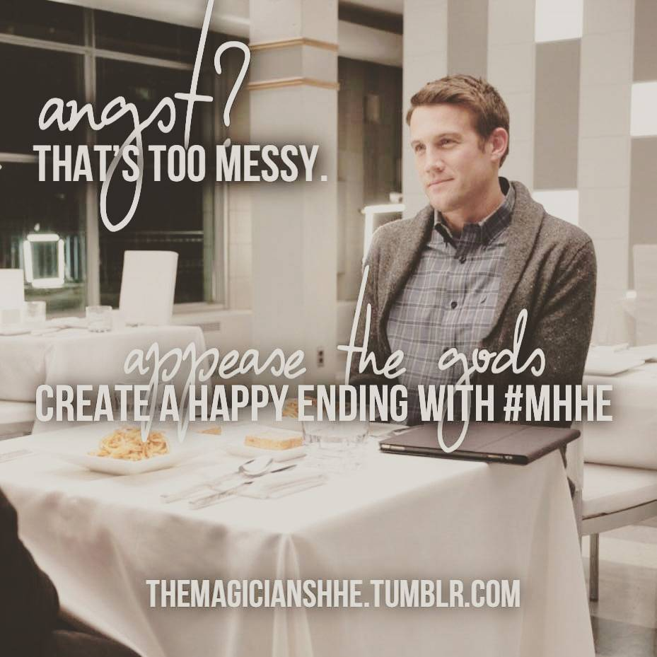 No cliffhangers. No angst. No sad endings. We promise! Artist registration is open now #MHHE #TheMagicians #HappilyEverAfter <br>http://pic.twitter.com/IpFZxJPtW8