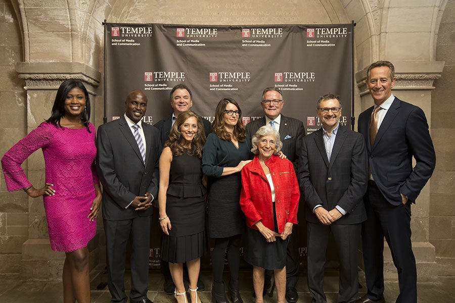 To receive the #LewKlein Excellence in Media Award in 2016 was a pinnacle moment in my career. It was an honor to accept an award in the name of my professor, mentor & friend #LewKlein. Thanks for all you taught me and the generations of @TempleUniv students @TUKleincollege RIP