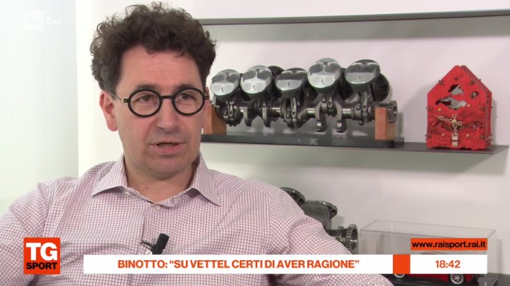 Binotto to RAI Sport: Knowing Seb he will come out stronger than before from what happened. The image of him moving the position signs under the podium was a moment of authenticity and I think his reaction in that situation is understandable and therefore also appreciable  #F1