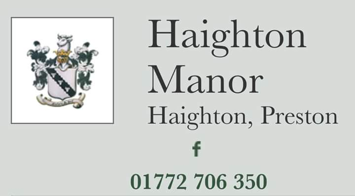 Next #ThankYou goes to Haighton Manor who have chosen to support throughout the next year. They have a wonderful dog walk happening this Sunday!! We will be joining them with one of our dogs 😍🐶 #Lancashirehour