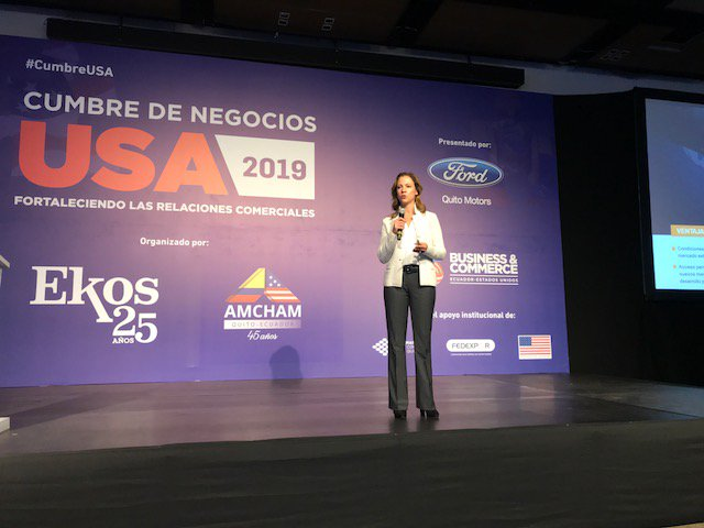 test Twitter Media - .@AmChamCol Executive Director @mclacouture discussing the U.S.-Colombia FTA and the opportunities and challenges that came with it at the Business Summit USA #CumbraUSA organized by @amchamec. https://t.co/QOWf83tYfV