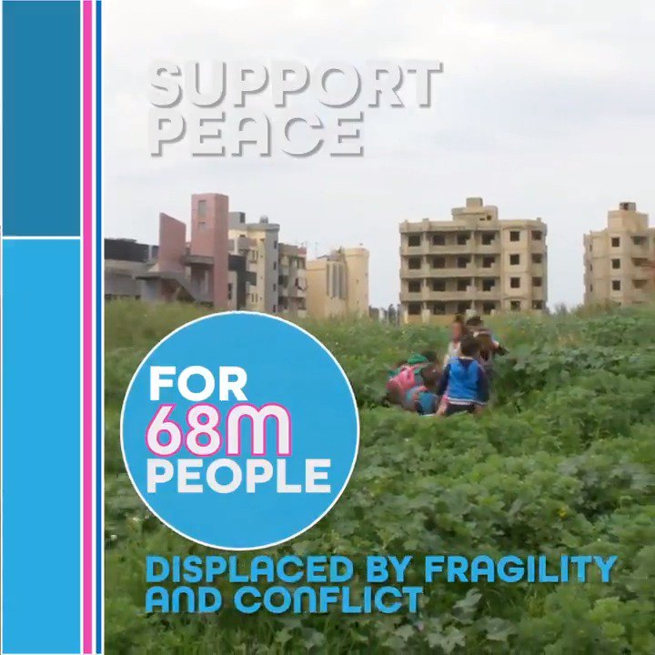 How can we support peace for 68m people displaced by fragility and conflict? #IDAworks #IDA19