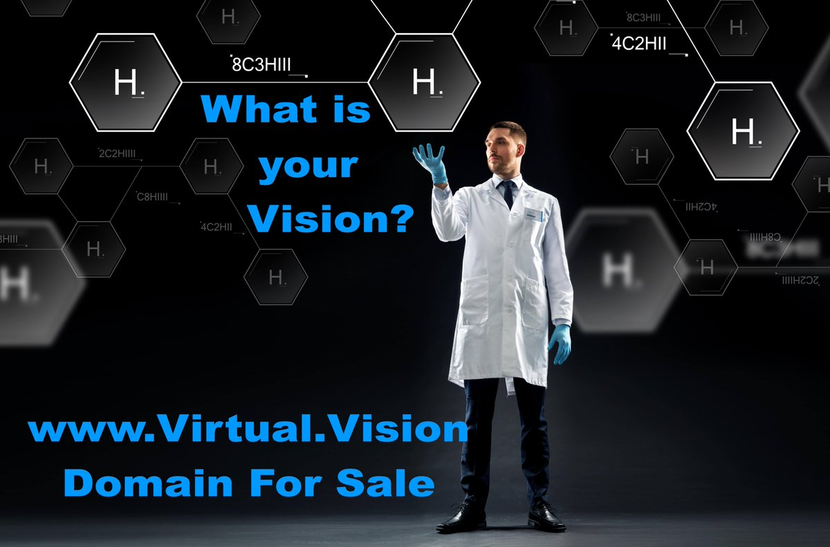 Virtual.Vision Domain For Sale