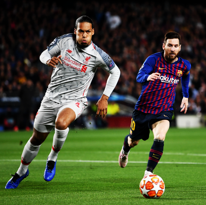 """Virgil van Dijk: """"¿Balón de Oro? Messi es el mejor jugador del mundo y creo que él se lo merece mientras esté activo. Si lo ganara, obviamente lo recibiré, pero no creo que haya caso. Él todavía es el mejor jugador del mundo, no importa si no estuvo en la final de la Champions""""."""