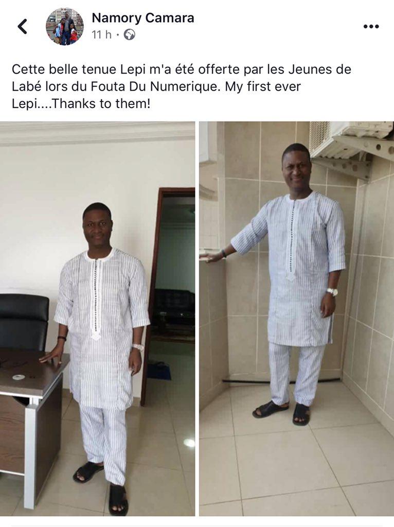 Le DG de l'@APIP_Guinee, M. Namory CAMARA, qui fut l'un de nos panelistes tout joyeux dans sa nouvelle tenue de Lepi. Ce fut 1e manière pour nous de vendre le contenu local. Merci d'être venu et nous vous attendons à la prochaine éditº. C'était excellent de vous avoir. #Fonuf2019 https://t.co/rOeDlsb0IW