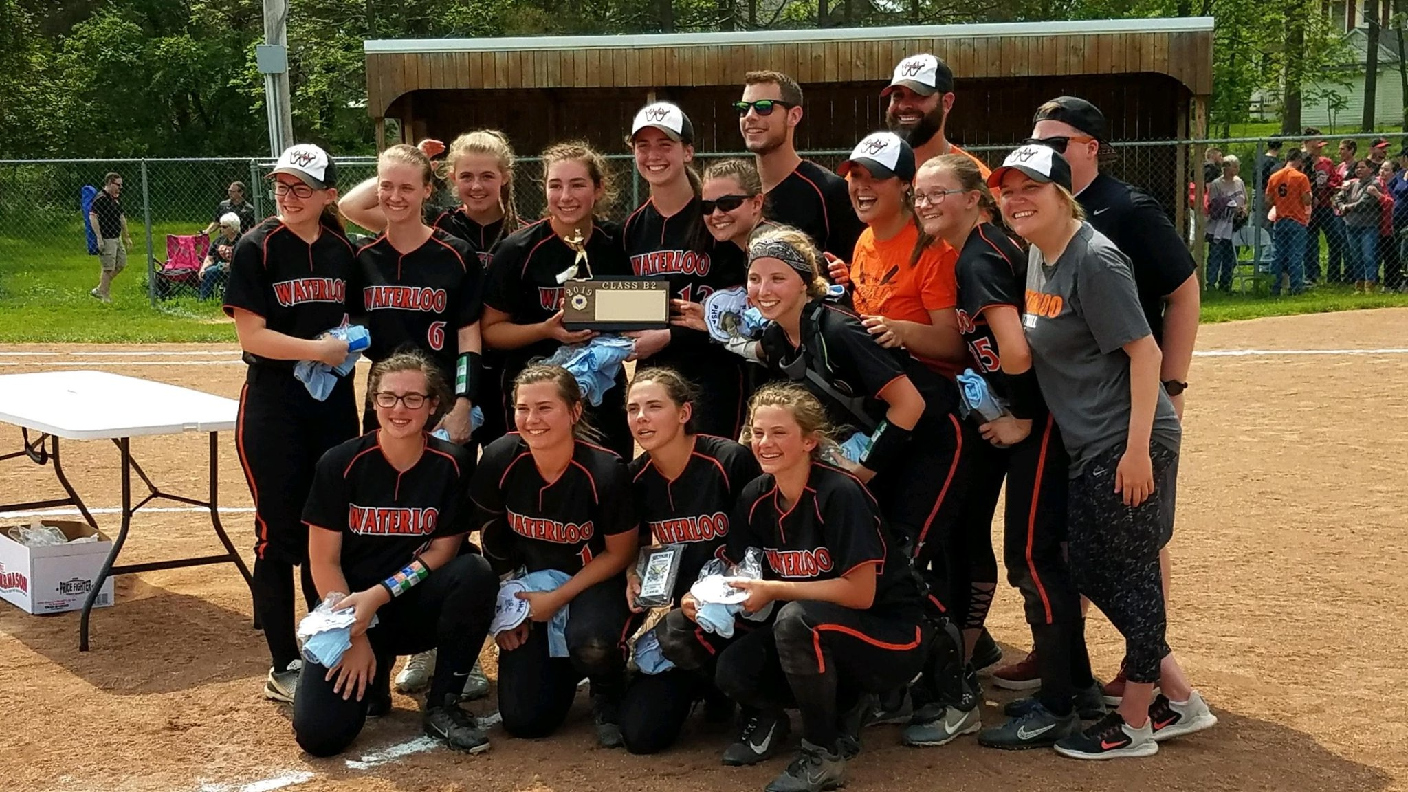 Waterloo captures Section V Class B2 softball title