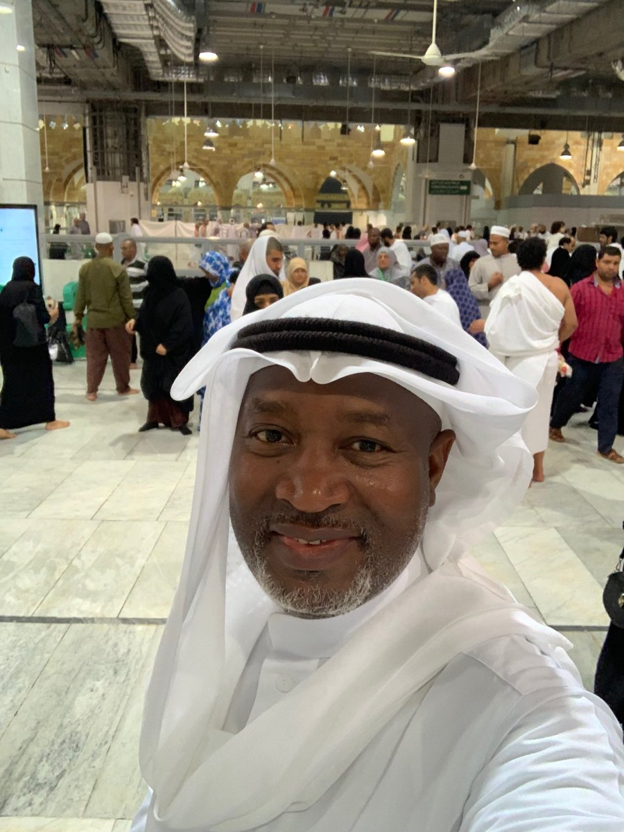 """Hadi Sirika on Twitter: """"Inside Haram, where true and absolute zero tension  exists!❤️🤲🏽🤲🏽🤲🏽🤲🏽🤲🏽… """""""
