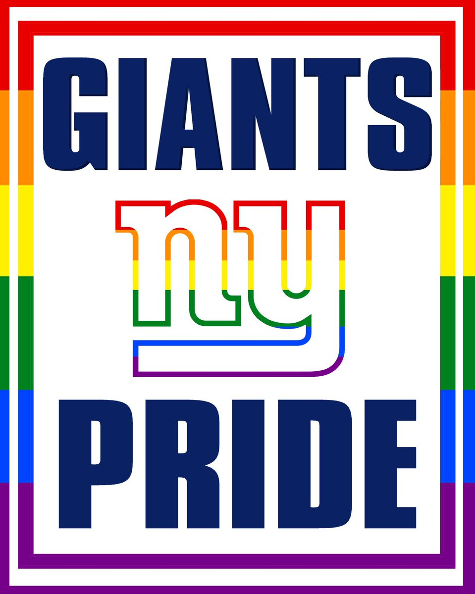New York Giants On Twitter Proud To Celebrate Pridemonth