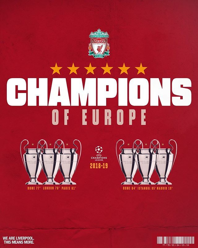 Final del Partido: Liverpool 2-0 Tottenham  #Liverpool #TheChampionIsBack #LiverpoolYouWillNeverWalkAlone #YNWA #UEFA #ChampionsLeague #ChampionsLeagueFinal2019 #SábadoDeChampions #WeAreLiverpool #ThisIsMore #TheReds #Believe #Madrid2019 http://bit.ly/2IaMfunpic.twitter.com/8ZKevfSv4N