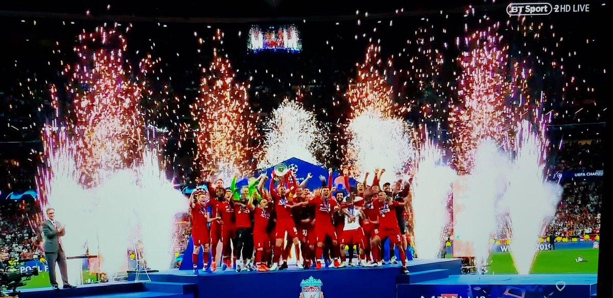 Lovin it!! #UCLfinal #LFC