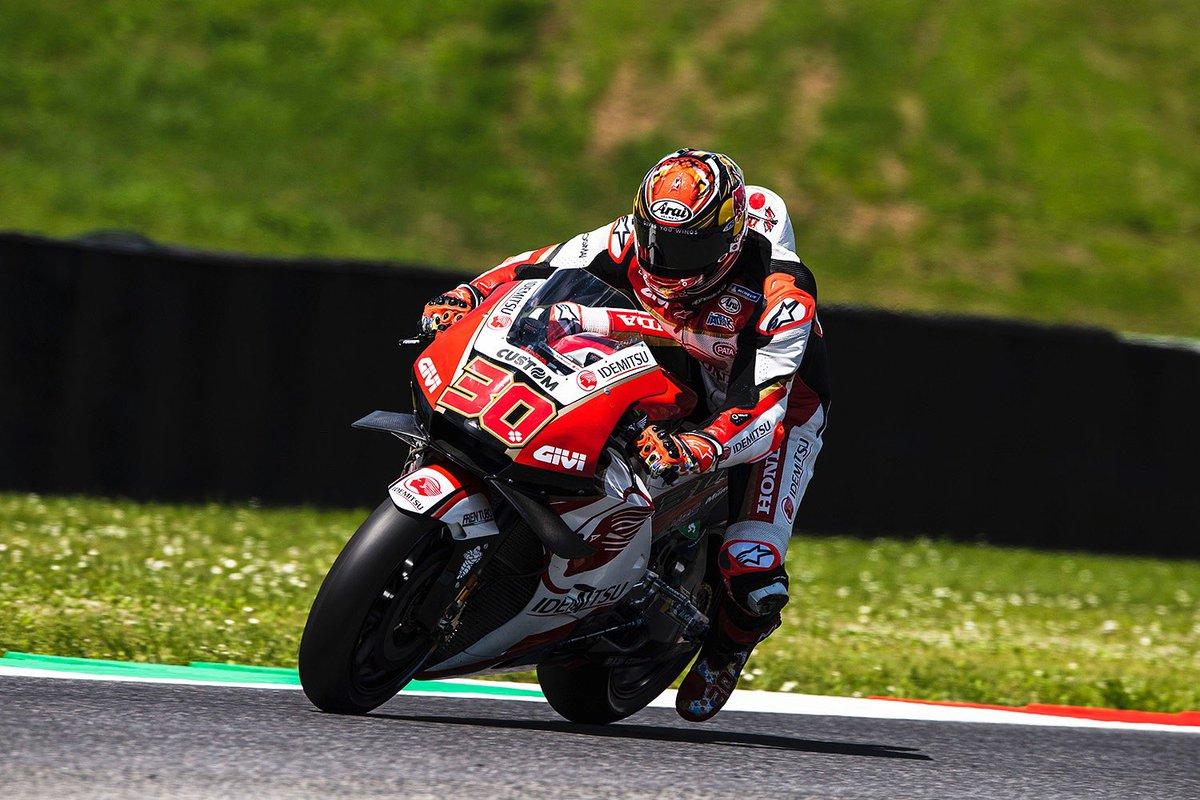 10番グリッドから決勝レースを戦います✊🏼 P10 on the grid! Give it all our best tomorrow's race ✊🏼🇮🇹 #ItalianGP #LCRHondaIDEMITSU #MotoGP