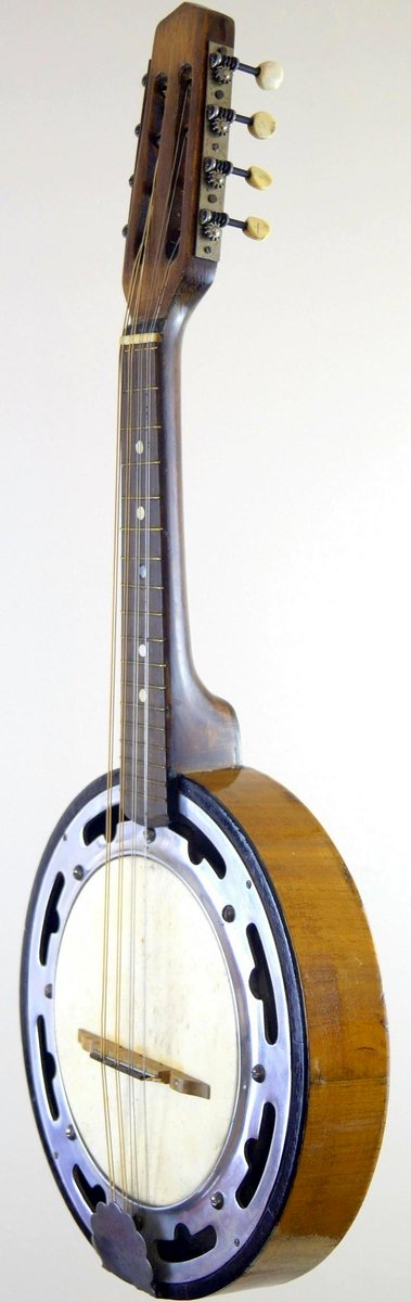 vintage european bracketless banjo mandolin at ukulele corner
