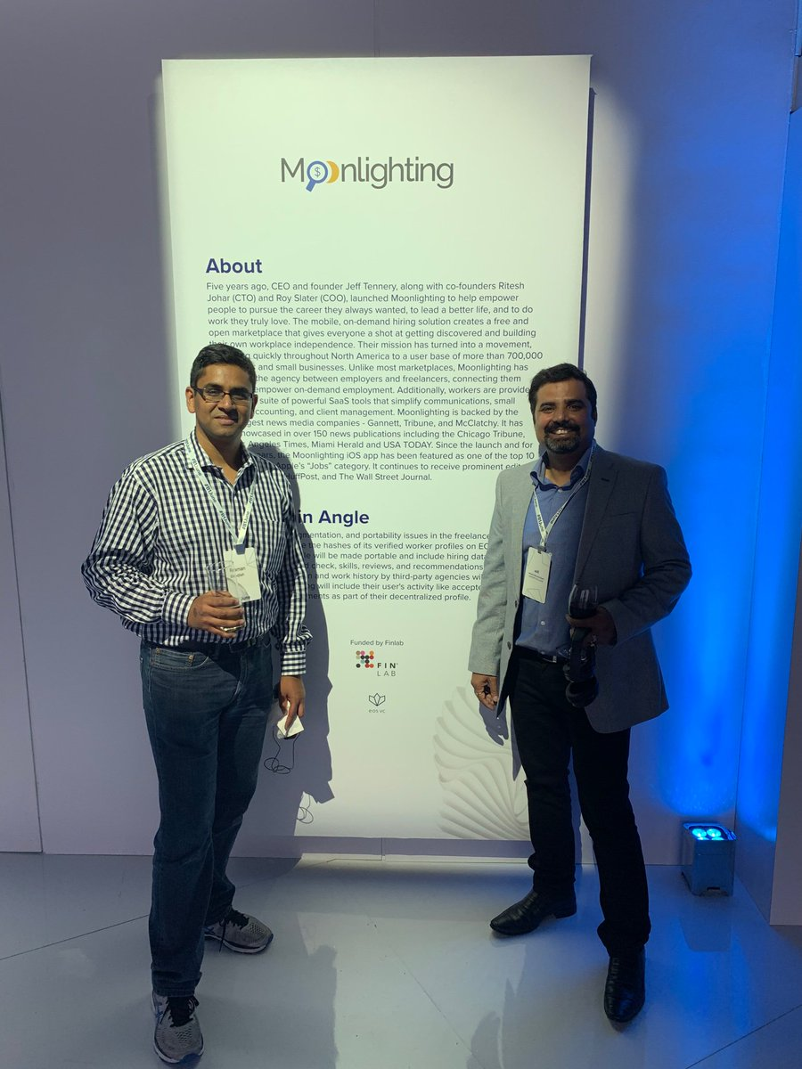 We made it to the hoardings at  #B1June  @Moonlighting @crypto_iwad