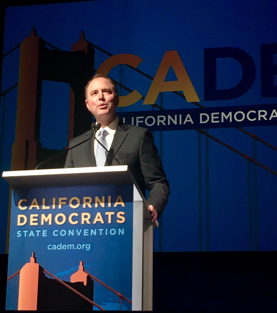 Let us finish the job we started. Let us reclaim our country. Let us go forth again into every state, every precinct, every household, every heart, and deliver such a convincing end to Trump and Trumpism that we will never be plagued by it or anything like it ever again #CADem19
