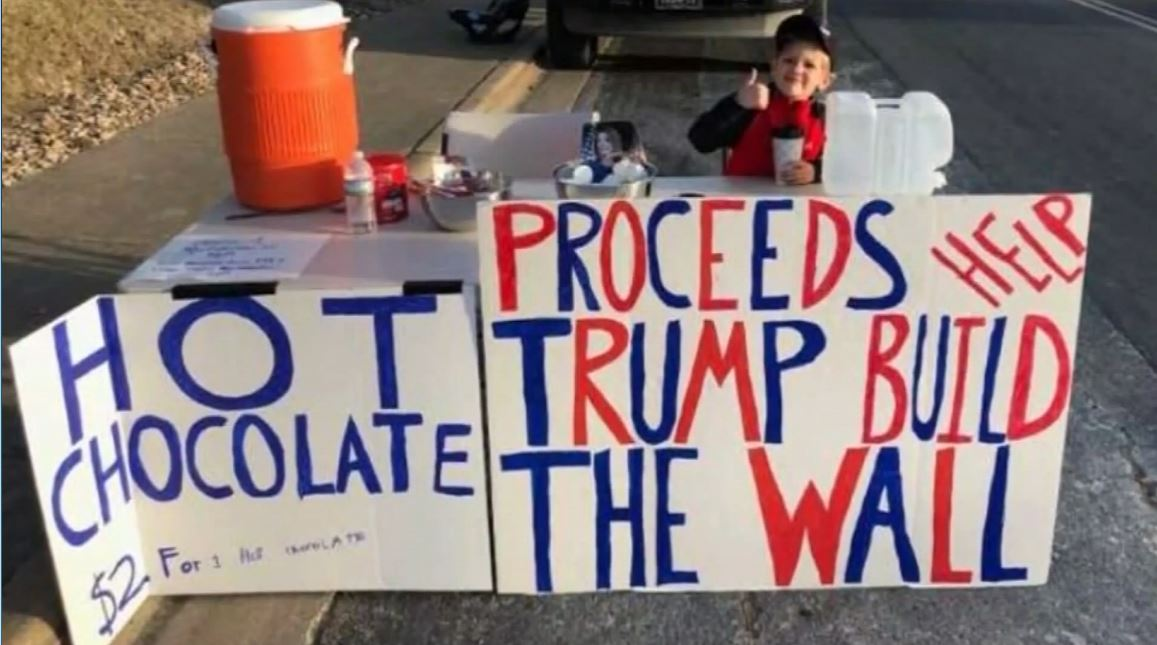 7-year-old Texas boy raises $22,000 to help fund section of border wall https://bit.ly/2WDs95h  #10TV