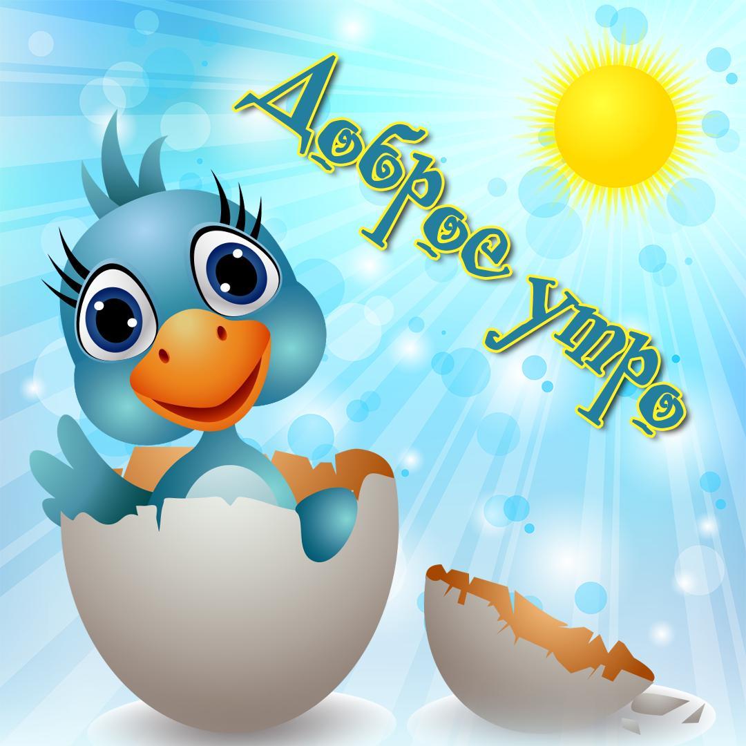 Анимашки, открытки с добрым утром позитивные и прикольные