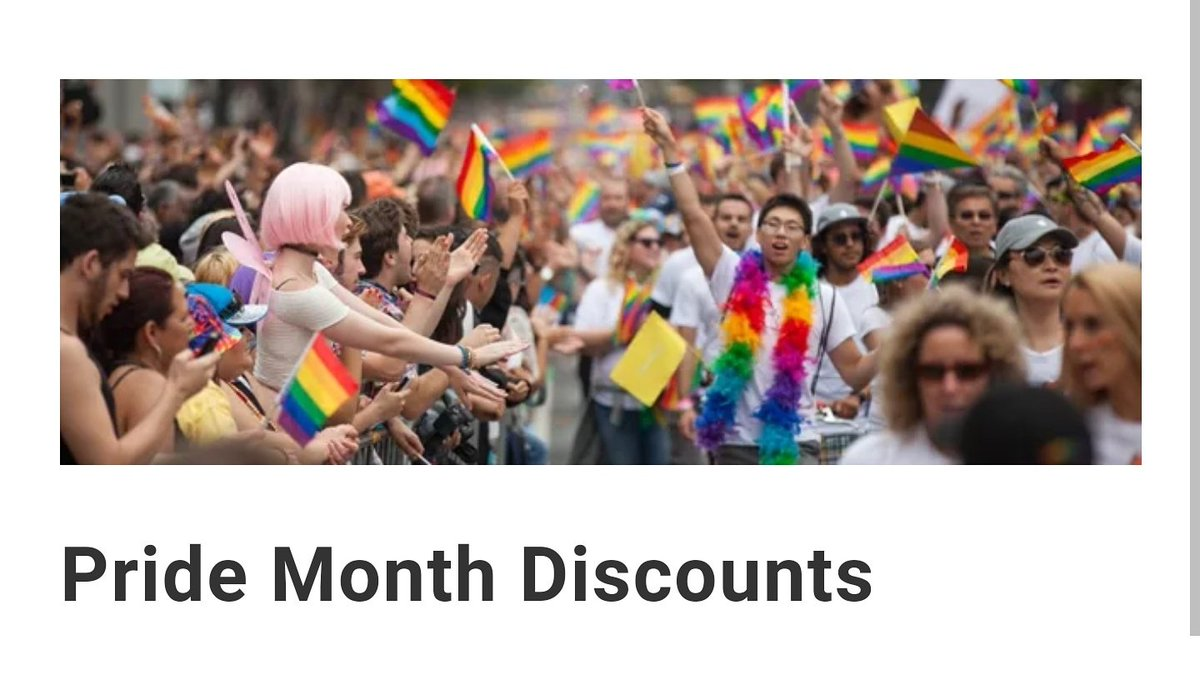 f1375326e2597 Simply walk in to the shop (@LaTimeless), let us know you're celebrating  pride month and we'll be more than happy to give you $10 off the price of  any ...