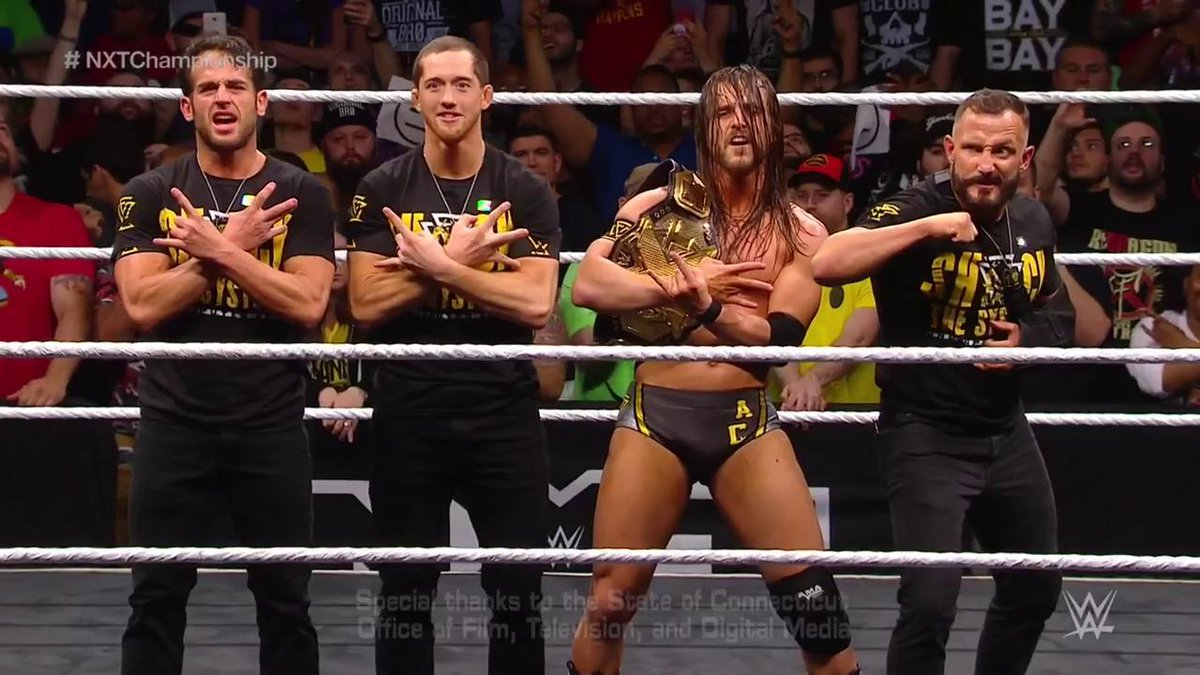 Adam Cole Wins The WWE NXT Title At Takeover (Photos, Video)