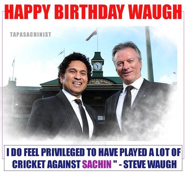 Wishing Happy Birthday Steve Waugh   