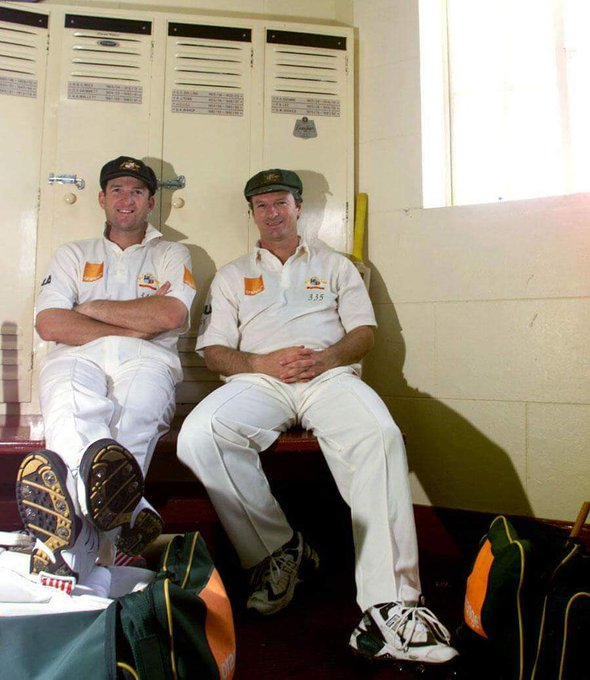 Happy Birthday Waugh Brothers... Steve Waugh and Mark Waugh.