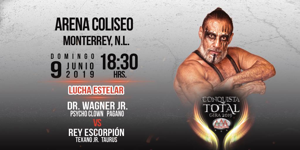"""AAA: Monterrey es la siguiente escala de """"Conquista Total"""" 4"""