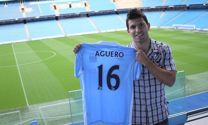 Best player City will ever have!! Happy birthday Sergio !