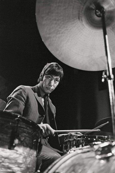 "Charles Robert \""Charlie\"" Watts (The Rolling Stones)  Birth 1941.6.2 Happy Birthday"
