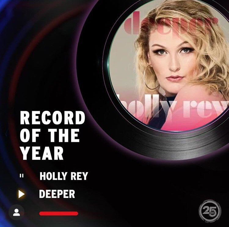 Dreams are Valid you shown us @Hollyreymusic congratulations  my sister it's been a long journey #RecordOfTheYear #Deeper we are proud of you & More music coming song of The Year <br>http://pic.twitter.com/HZyORR5AUY