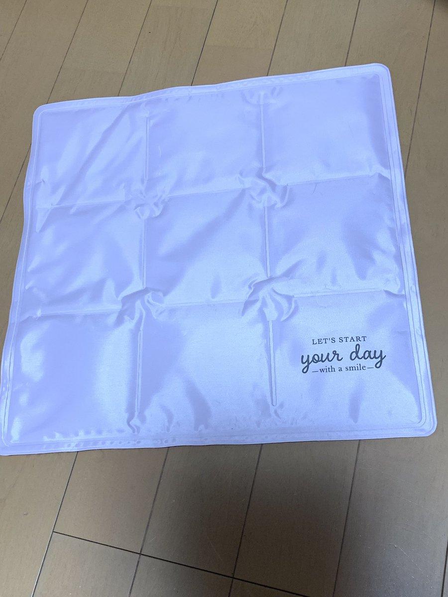 test ツイッターメディア - DAISOでの200円商品 座布団型の冷却シート 大人でも使えるピンク色で本当に冷たくて気持ちいい〜 試合観戦の時に持って行きたいけど、少し重たいのよねぇ… この値段でお買得商品だわ また、DAISOに行ったら追加で買います! もう寝る時にも使う😆✨ #DAISO #ダイソー https://t.co/wGgU4BgdLX