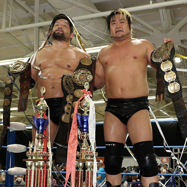 """AJPW: """"Super Power Series 2019"""" Violent Giants mantiene su título 5"""