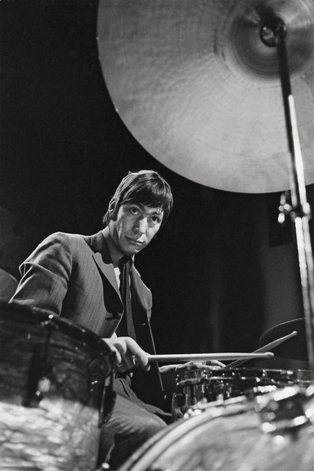 Happy 78th birthday to the heartbeat of the Stones, Charlie Watts.