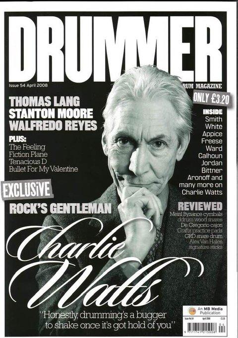 Happy Birthday Charlie  Watts  2nd June 1941.