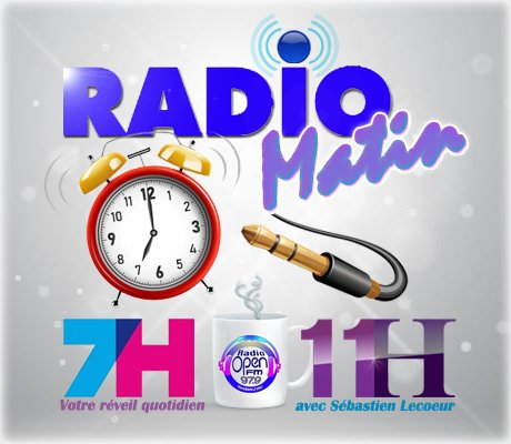 """Démarrez votre semaine au son du """"Radio Matin"""" de @radioopenfm en direct de 7h à 11h. @SLECOEUR et toute l'équipe vous donnent rendez-vous et souhaitent un excellent anniversaire à #FredericFrancois et #JulieGayet."""