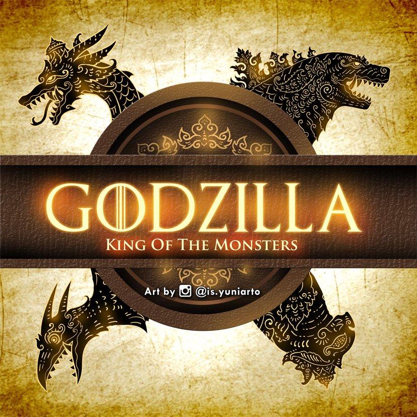 GOTZILLA House Sigils: Game of Thrones X Godzilla X Javanese Wayang Style. Art by  http:// instagram.com/is.yuniarto     Check out each Monster House sayings in my previous tweet! #GodzillaMovie #Godzilla #Godzilla2 #gameofthrones #GOTfinal #ghidorah #mothra #rodan<br>http://pic.twitter.com/CKaJNfXMg0