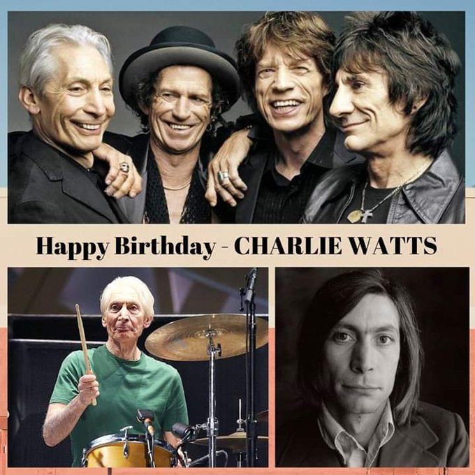 Happy Birthday, Charlie Watts