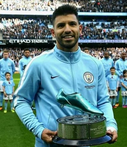 Happy birthday day Sergio aguero we need more Trophies like these wish you the best.
