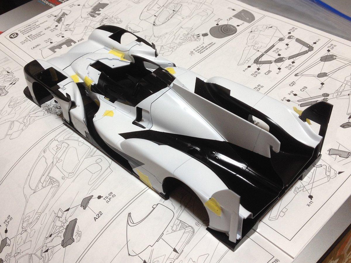 タミヤ 1/24 スポーツカーシリーズ No.349 トヨタ ガズーレーシング TS050 HYBRID プラモデル 24349に関する画像1
