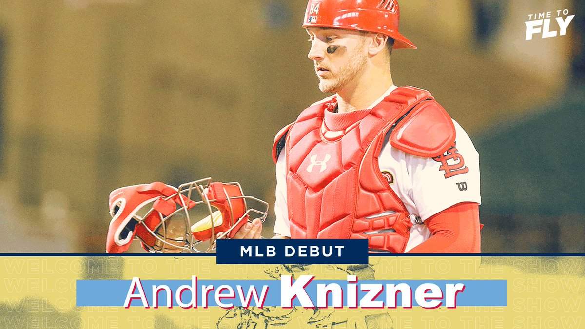 Andrew Knizner is making his @MLB debut!