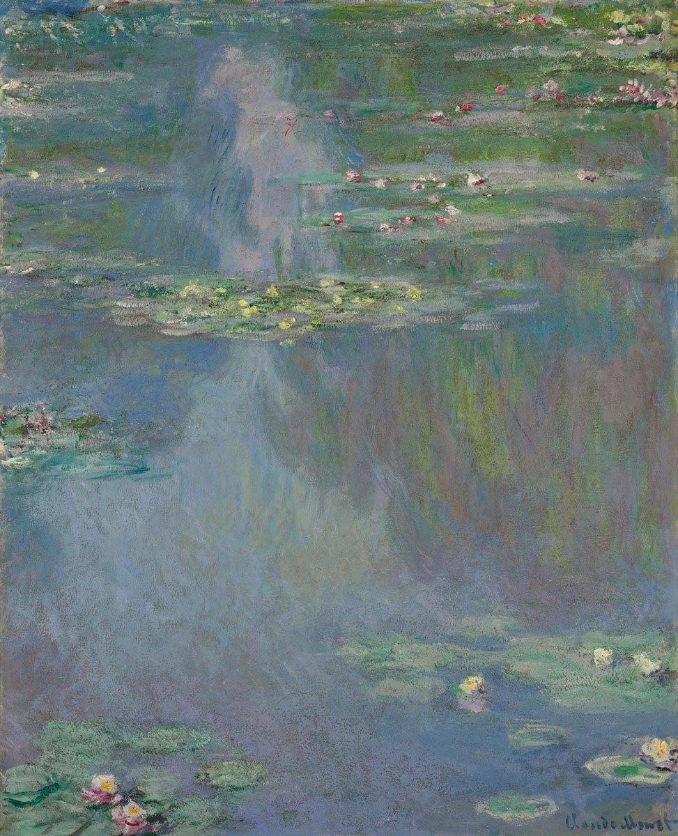 "🎨 Bel Art - Orlando Fernández --- 🎨🎼 on Twitter: ""Nymphéas, 1907 Claude  Monet --… """