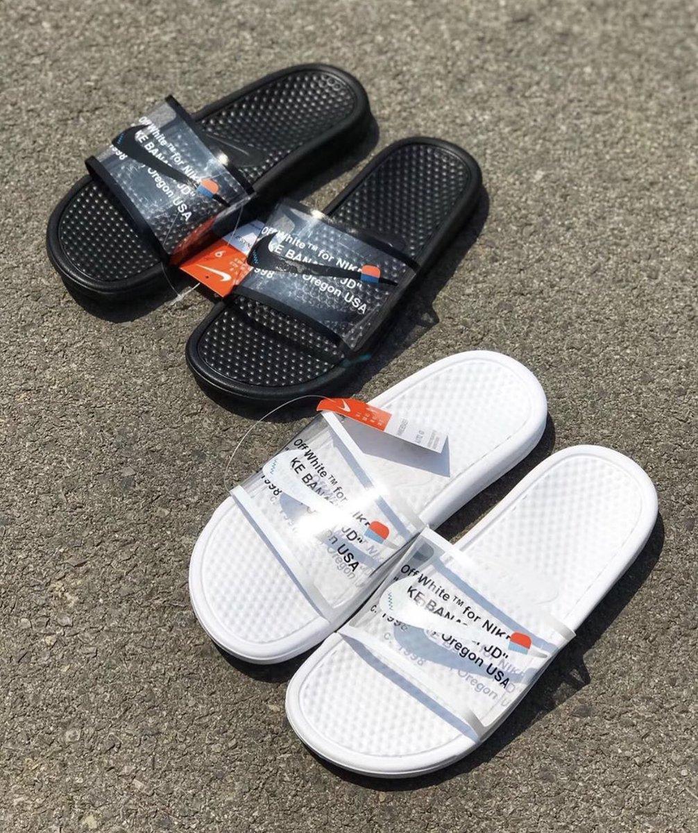 Off-White x Nike Benassi Slides