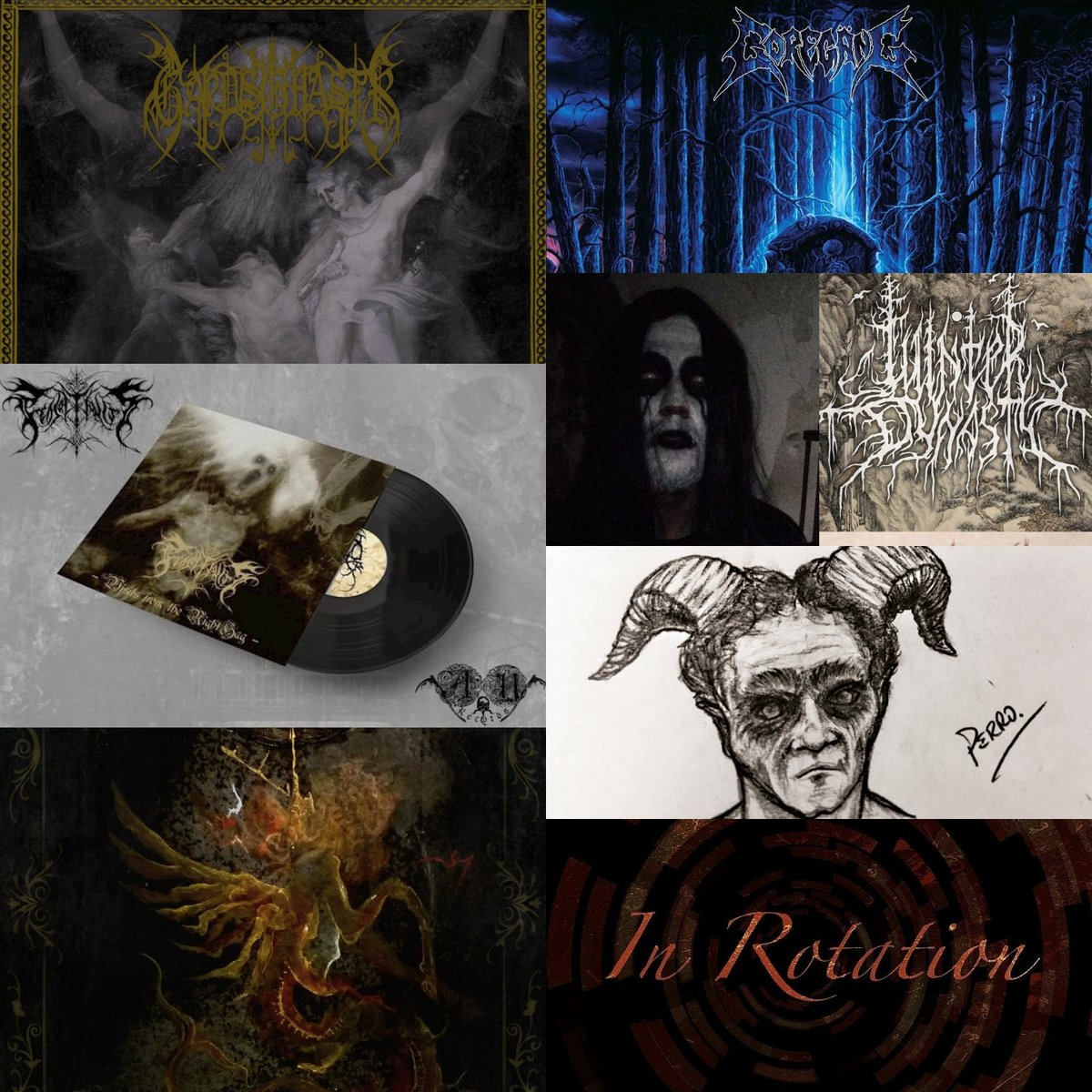 Monday #Gardsghastr review Tuesday #Goregäng review Wednesday @SFD_DSBM interview Thursday #TheProjectionist #ExclusiveStream  Friday #TheRiffsMustFlow article Saturday #Concilivm review  Sunday #InRotation article #WeAreBlessedAltarZine #TheZineSupportingTheUnderground<br>http://pic.twitter.com/zCK0EGxJK0