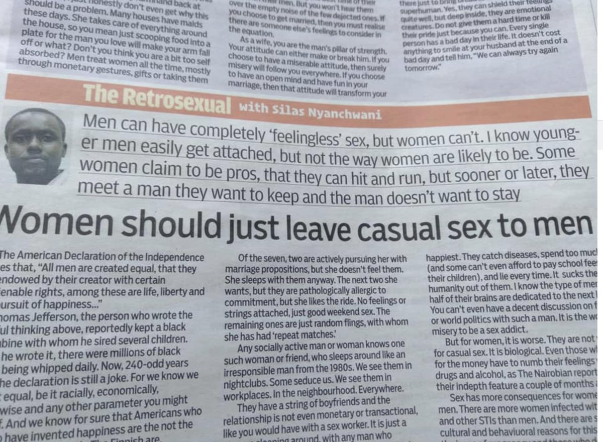 Why women have casual sex