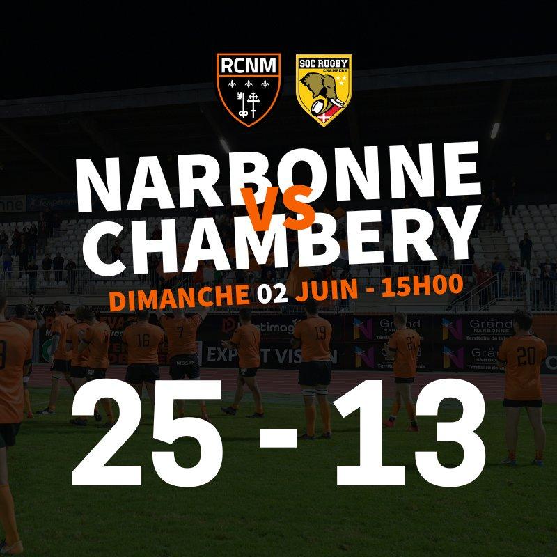 #RCNMSOC | FIN DU MATCH 🆚️  Gros match de nos joueurs au Stade Cassayet. Dommage...