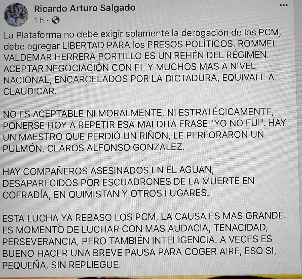 Ricardo Salgado On Twitter No Sé Si Se Ve Bien A Quienes