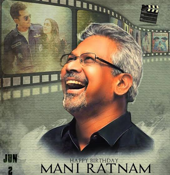 Happy Birthday to the legendary director Mr. Mani Ratnam garu.